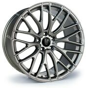 Alloy Wheels 19 R10 For 2014 Renault Trafic Camper High Roof Bus 5x114 Grey