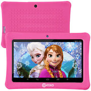 Contixo 7kids Pink Tablet Android 8.1 With Wifi 16gb 20+ Education Learning App