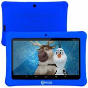 Contixo 7kids Blue Tablet Android 8.1 With Wifi 16gb 20+ Education Learning App
