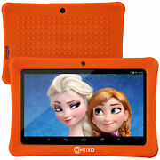 Contixo 7kids Orange Tablet Android 8.1 / Wifi 16gb 20+ Education Learning App