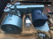 Gast Model 4565-vi5c-vacuum Pump With Attached Lesson 3hp 208/230 3ph Motor Nos