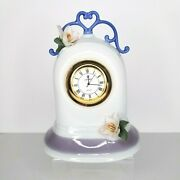 Lladro Spain Reflections Clock 6601 Retired In Original Box With Documentation