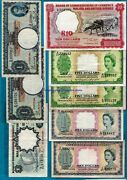 Malaya And British Borneo Board Of Commissioners Of Currency 1 - 10 Rare