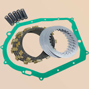 Clutch Kit Andheavy Duty Springs Andcover Gasket For Yamaha Raptor Yfm350r 2004-2013