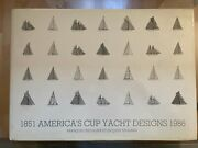 Americaand039s Cup Yacht Designs 1851-1986 F. Chevalier And J. Taglang Book
