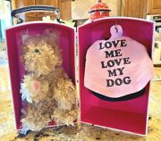 Juicy Couture Stuffed Yorkie With Wardrobe Closet. Extremely Rare