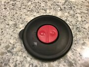 Tupperware 4721 Black Vented Round Replacement Lid Seal Only For Vent N Serve