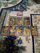 Bandai Dragon Ball Old Carddass Not For Sale 9 Sheets Set Anime Trading Card