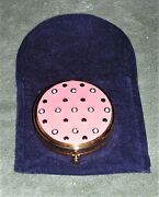 2008 Limited Edition Estee Lauder Lucidity Twinkling Pink Jeweled Compact