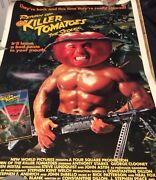 Return Of The Killer Tomatoes The Sequel Great Torn Corner Some Tears On White