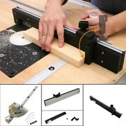 Track Stop Table Saw-router Miter Gauge Sawing Assembly Tools Accessories Usa