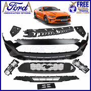 Fits Ford Mustang 2017 2018 2019 2020 Front Bumper Grilles Brackets Complete Kit