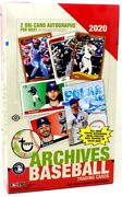 2020 Topps Archives Baseball Hobby 10 Box Case Blowout Cards