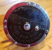 Minty Just Serviced Penn 49 Deep Sea Reel Conventional Early Vintage