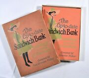 Fuller 1909 The Up-to-date Sandwich Book - 1st Edition - 400 Ways To Make A