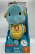 Fisher-price Soothe And Glow Seahorse, Blue, New, Free Ship