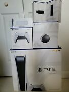 Ps5 Playstation 5 Disc Edition Ultimate Bundle Console Extras And Warranty