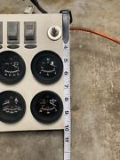 Boat Gauge Panel With Faria Gauges