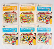Showand039n Tell Picturesound Program Ge Disney Lot Of 6 45 Record And Slides
