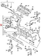 Genuine Vw Audi Beetle Cabrio Exhaust Manifold With Turbocharger 06j145713fx