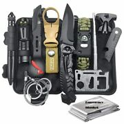 Emergency Survival Kit Survival Gear First Aid Kit Sos Camping Adventure Tools