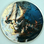 Storm On The Sea Rembrandt American Silver Eagle 1oz .999 Silver Dollar Art Coin