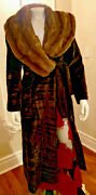 Vintage Fendi Fur Coat Gorgeous Absolutely Beautiful Size 42 Made In Italy