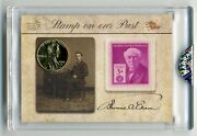 2020 The Bar Pieces Of The Past Hybrid Thomas Edison Dual Relic Gold Pennyandstamp