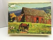 Vintage Warren Built Rite A Day In June 1600 Piece Picture Puzzle Beautiful