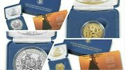 Mayflower 400th Anniversary Gold And Silver Reverse Proof Coin/medal - Ship Ready