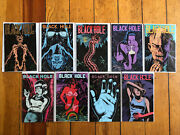 Black Hole 1 2 3 4 5 6 7 8 By Charles Burns Kitchen Sink 1 And 3 Fantagraphics