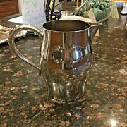 Early American Sp Water Pitcher By Oneida/paul Revere Silver