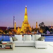 3d Thai Palace Building Modern Wall Mural Wallpaper Living Room Lounge Bedroom
