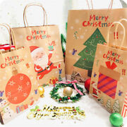 Christmas Gift Bags Large Packing Box Craft Xmas Bags Wrapping Present Bags 3pc