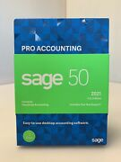Sage 50 Pro Accounting 2021 Small Business Accounting Software Sealed 1 User