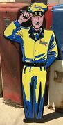 Sunoco Signs / Gas And Oil / Sunoco Service Man / Outdoor Garage Signs For Men /