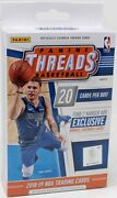 2018/19 Panini Threads Basketball Hanger Pack Box Blowout Cards