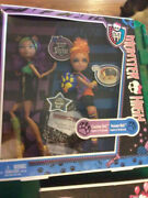 Original 2011 Monster High Clawdeen And Howleen Wolf Sisters 2 Pack Exclusive Rare