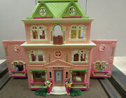 Fisher Price Loving Family Grand Mansion Family And Large Collection Furniture