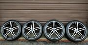 2008-2015 Factory Audi R8 19 Oem Wheels And Winter Snow Tires