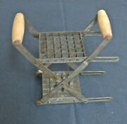 Antique Vintage French Fry Cutter Wooden Handles