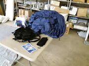 Taylor Made Deck Boat Cover 23and0394-24and0395l 104 Beam Navy 1095