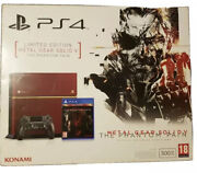 Sony Playstation 4 Limited Ed Console Metal Gear Solid V Phantom Pain 500 Gb Ps4