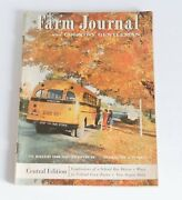 Farm Journal And Country Gentlemen Magazine October 1956 Central Edition 50s Ads