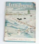 Farm Journal Magazine January 1957 Central Edition 50s Ads Vintage Advertising