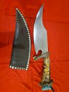 Highly Collectible Custom Bowie Knive Made By Bob Hardin. 2001