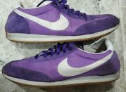 Ultra Rare Vintage 1980and039s Nike Oceania Purple Running Shoes Menand039s Size Us10.5 Og