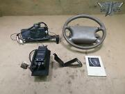 92-96 Lexus Sc300 Sc400 Leather Steering Wheel W/ Srs And Phone W/ Transceiver Set