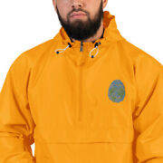 Cultural Broker - Cultural Identity Embroidered Champion Packable Jacket