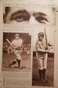 June 3, 1920 Babe Ruth Mid-week Pictorial The New York Times Yankees Magazine